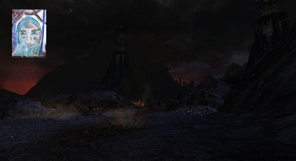 Gandalf erzählt: Gandalf und Pippin auf dem Weg zum Schwarzen Tor