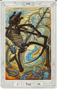 Der Tod aus dem Crowley Tarot