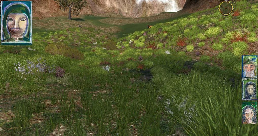Faramir erzählt: Auf dem Rothornpass ins Schattenbachtal zum Spiegelsee.
