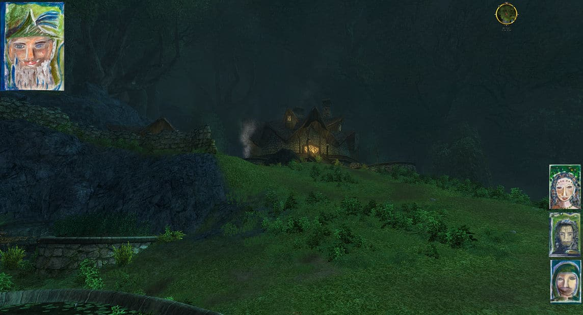 Im Alten Wald, nahe bei Tom Bombadil´s Haus